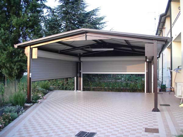 Serrande per garage reggio emilia carpi prezzi montaggio for Box auto richiudibile prezzi